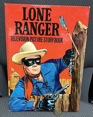 Vintage Authentic 1967 Lone Ranger Television Dell Comic Book Hb Uk Exc!!!