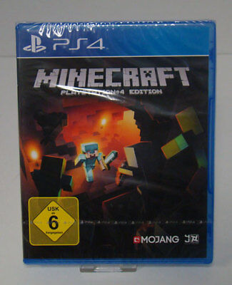 PS4 Minecraft Playstation 4 NEU & OVP