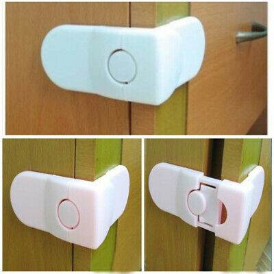 5pcs Baby Safety Drawer Locks Kids Security Protection Lock for Cabinet Door New