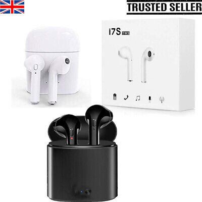 I7S Twins Wireless Earphone Bluetooth Airpods Headphones TWS For iPhone Samsung