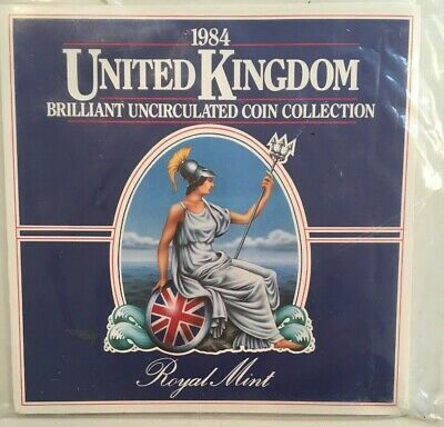 1984 United Kingdom Royal Mint Uncirculated Coin Collection