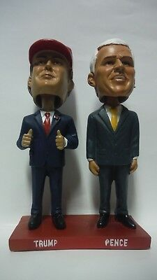 Political Bobble Heads New In The Box - Donald Trump & Mike Pence 2016