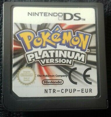 Pokemon: Platinum Version (Nintendo DS, 2009) UK PAL  ** CART ONLY**