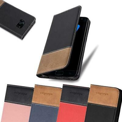 Case for Samsung Galaxy S7 EDGE Phone Cover PU leather Combi X Wallet Book