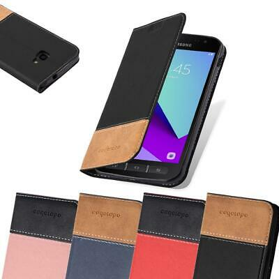 Case for Samsung Galaxy XCOVER 4 Phone Cover PU leather Combi X Wallet Book
