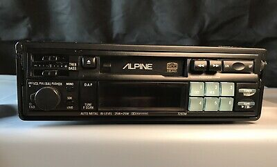 Alpine 7292M Car Stereo Cassette (Vintage) / TOP CONDITION!