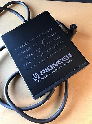 Pioneer Crossover Network CD-620 / Vintage / TOP CONDITION! Including Cables