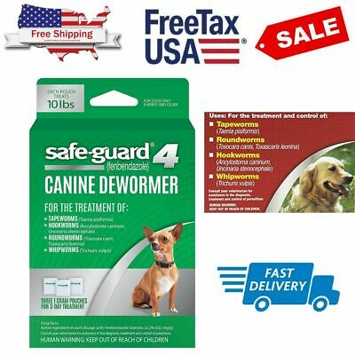 8 in1 Safe-Guard Canine Dewormer for Dog Puppy Tapeworm Worms Medicine Safeguard