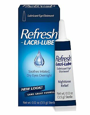 REFRESH LACRI-LUBE Lubricant Eye Ointment 3.50 g (Pack of 10)
