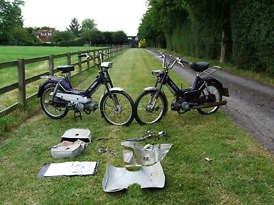 Puch Maxi S Barn Find 2 Of Them Plus Parts, Puch Maxi S Motorbike