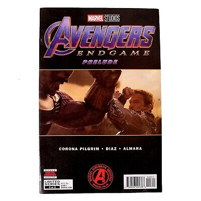 Marvel Comics - Avengers Endgame Prelude Comic - Issue 3 - April 2019
