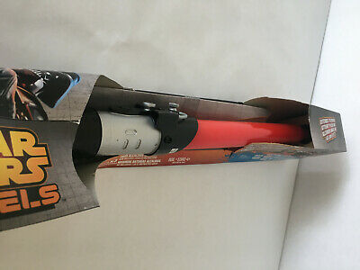 Star Wars Rebels Darth Vader Electronic Lightsaber New with Opened Box