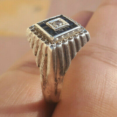 extremely ancient old ring silver weeding ring antique rare type.
