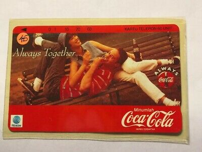 "Coca Cola ""Always Together"" Foreign Phone Card"