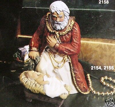 Ceramic Bisque Adoring Santa with Child Kimple Mold 2154 U-Paint Ready To Paint