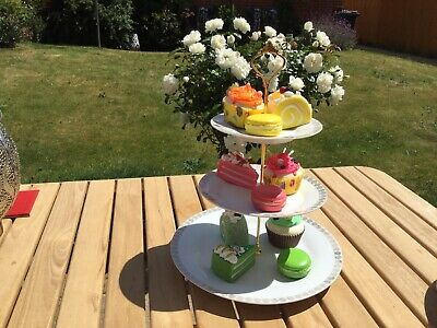 Lovely 3 Tier Cake Stand for Afternoon Teas Weddings And Parties
