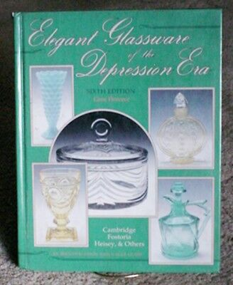 1995 Elegant Glassware of the Depression Era 238 pages