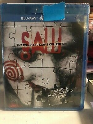 Saw: The Complete Movie Collection (Blu-ray, 2014, 3-Disc Set) NO DIGITAL