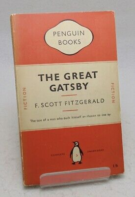 F. Scott Fitzgerald The Great Gatsby Penguin 1950 1st - VERY GOOD COPY