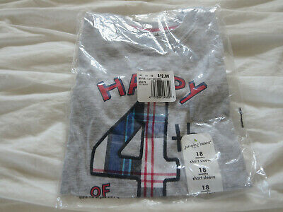 Brand New Jumping Beans 18m Fourth of July Short Sleeve Shirt