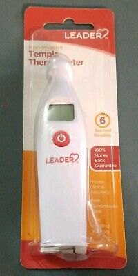 LEADER Thermometer Temple 6 Second Reading