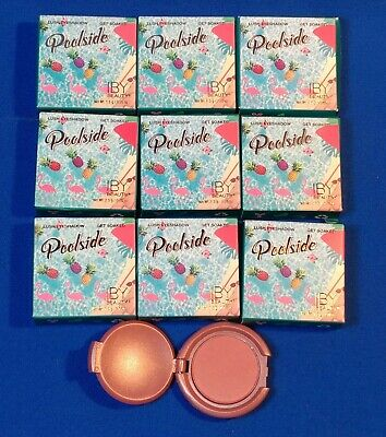 9X IBY Beauty Poolside Lush Eyeshadow ~ GET SOAKED ~ 1.5g/0.05oz ea ~ LOT of 9