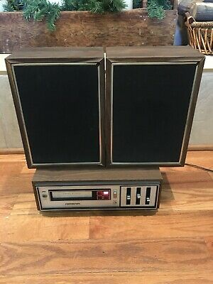 Vintage Soundesign 4840 Stereo 8 Track Tested and Works W/ Speakers