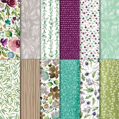 "Stampin' Up! 6x6 Designer Paper Pack ""Frosted Floral"""