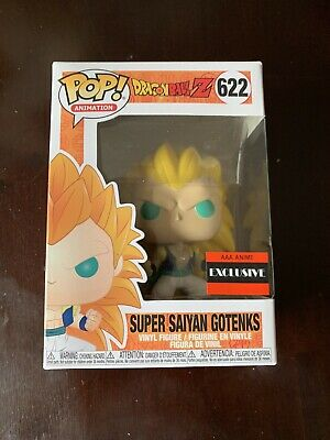 Funko Pop Dragon Ball Z Super Saiyan 3 Gotenks Vinyl Figure AAA exclusive MINT*
