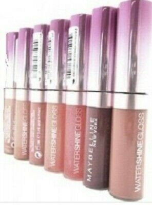 Maybelline Water Shine Lip gloss 💖 103 CRYSTAL ROCKS (nude)  New
