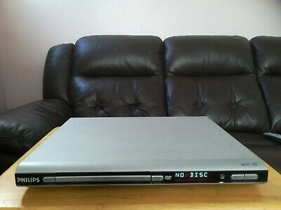 Dvd Player & Remote Control: Phillips: Free Scart Lead & Stand