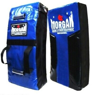 Morgan Blue/ Black Heavy Duty Strike Shield Boxing Kick Pad Rugby Muay Thai