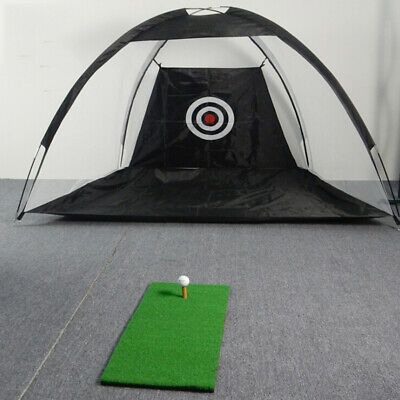Golf Net Training Aid Hitting Practice Lawn Driving Range Cage Tent Exercise HOT