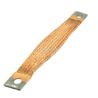 H● CJ12 22.5cm Length 400A Conductor Flat Copper Braided Wire Protecter.