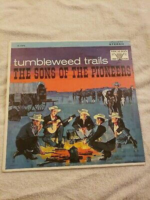 SONS OF THE PIONEERS - tumbleweed trails VOCALION