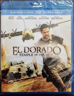 ☆New☆ El Dorado Temple Of The Sun Bluray + Dvd Movie ☆Sealed☆ ✔Free Shipping