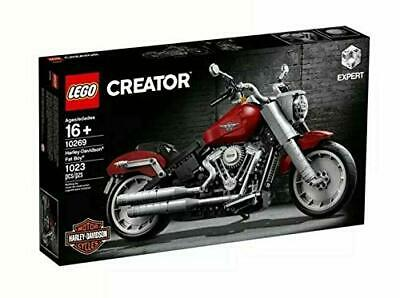 LEGO 10269 Creator Expert Harley Davidson Fat Boy Motorcyle Building Toy Playset
