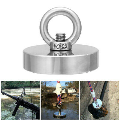 Strong Powerful Round Neodymium Magnet Hook Rescue Magnet Fishing Equipment Rope