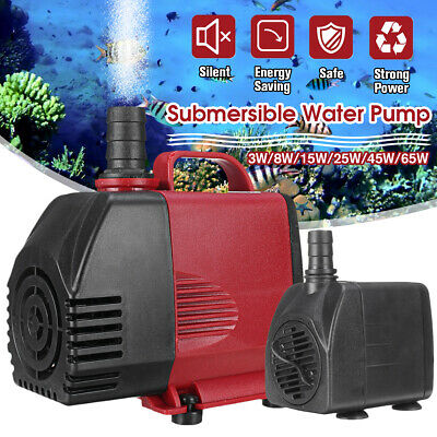 Submersible Water Pump Fish Pond Aquarium Tank Fountain Sump Feature 220-3000 LP