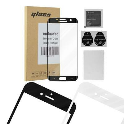 Screen Protector for Samsung Galaxy S7 EDGE Full Cover Tempered Glas Film 9H