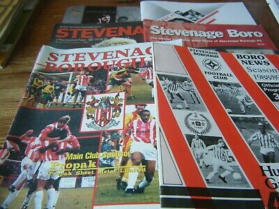 STEVENAGE  BORO  HOMES  1988 - 2017   BUY IT  NOW  99p  EACH  ALL  LISTED    VGC