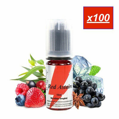 E-LIQUIDE RED ASTAIRE 100X10 ML - 0 mg 3 mg 6 mg 12 mg 18 mg - T-JUICE