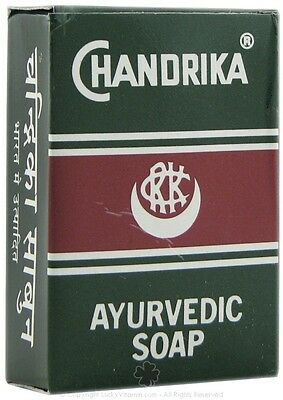 10 x 75g Chandrika Ayurvedic Soap ( Total: 750g)