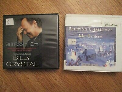 2 novels on CD: Skipping Christmas (Grisham; Still Foolin' 'Em ( Billy Crystal)