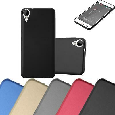 Silicone Case for HTC 10 LIFESTYLE / 825 Shock Proof Cover Mat Metallic TPU GEL
