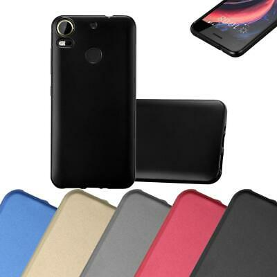 Silicone Case for HTC Desire 10 PRO Shock Proof Cover Mat Metallic TPU