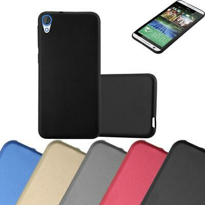 Silicone Case for HTC DESIRE 820 Shock Proof Cover Mat Metallic TPU