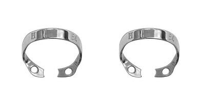2 pcs Rubber Dam Clamp Brinker for incisors and canines B4 High Grade Steel