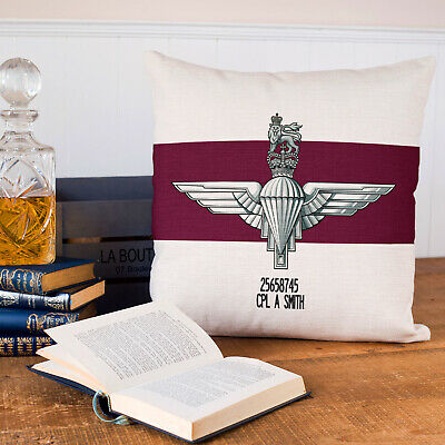 Personalised Welsh Guards Cushion Cover British Army Dad Gift MC73