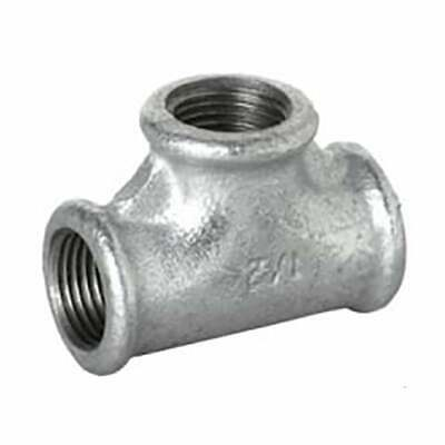 """BAG of 5 Galvanised Malleable Iron Equal Tee 1 1/4"""""""